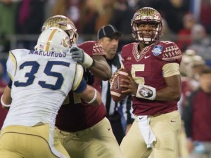 Jameis Winston has yet to lose a game in his collegiate career